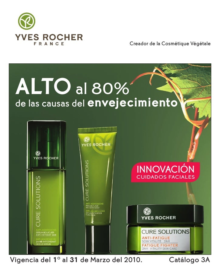 Creador de la Cosmétique Végétale      ALTO al 80%  de las causas del envejecimiento                                      ...