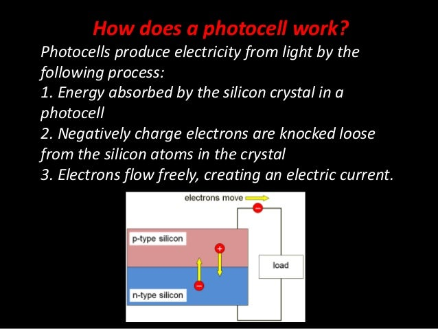 Introduction to photocells 4 how does a photocell work ccuart Images