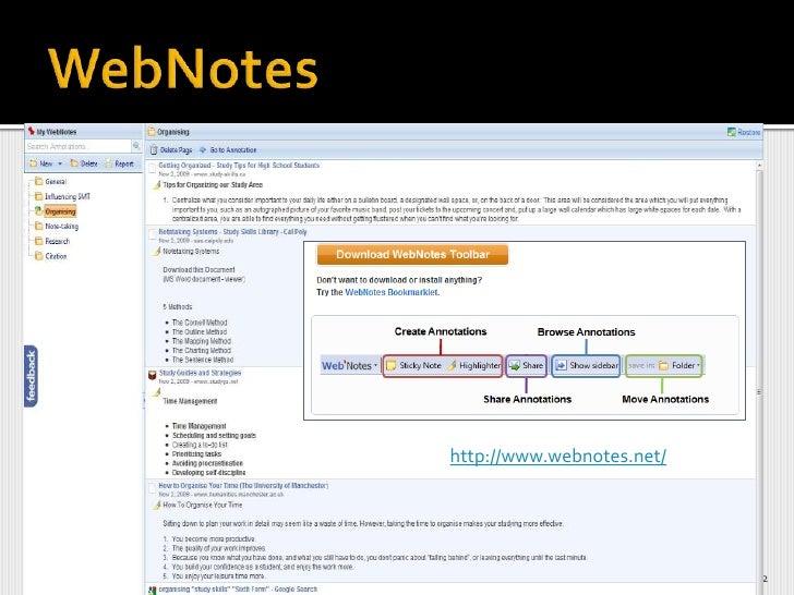 Webnotes<br />