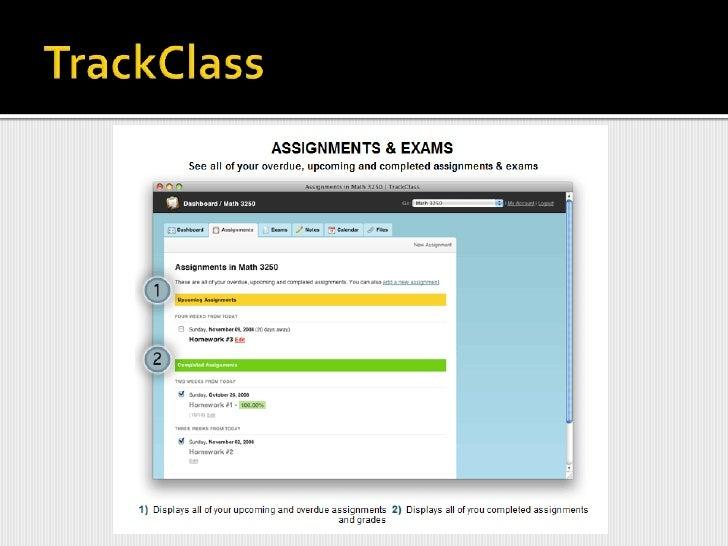 TrackClass<br />http://trackclass.com/<br />http://trackclass.com/tour<br />