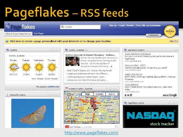 iGoogle – add RSS feeds<br />
