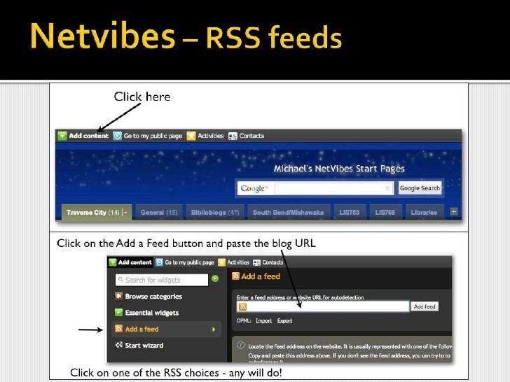 Add an RSS Feed<br />