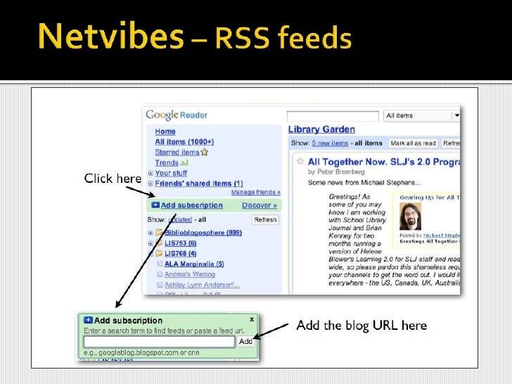 iGoogle – News feeds<br />