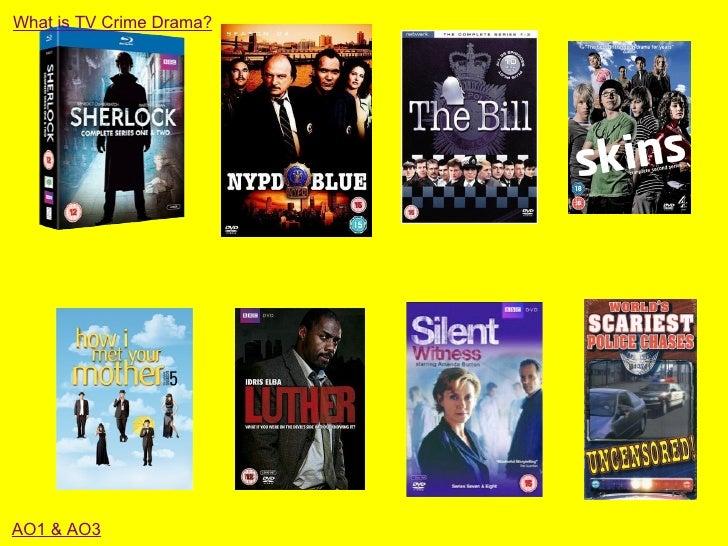 What is TV Crime Drama?AO1 & AO3