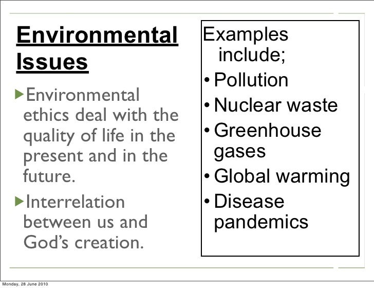 environmental ethic essays Extracts from this document introduction 'religious ethics are not the best approach to environmental ethics' discuss in this essay, i will be taking religious ethics to mean the ethical principles of christianity, ie christian ethics.