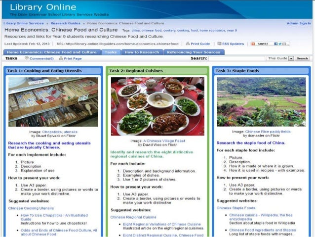 Yr 9 chinese food powerpoint balance ofsources 13 forumfinder Image collections
