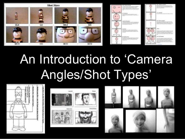 An Introduction to 'Camera Angles/Shot Types'