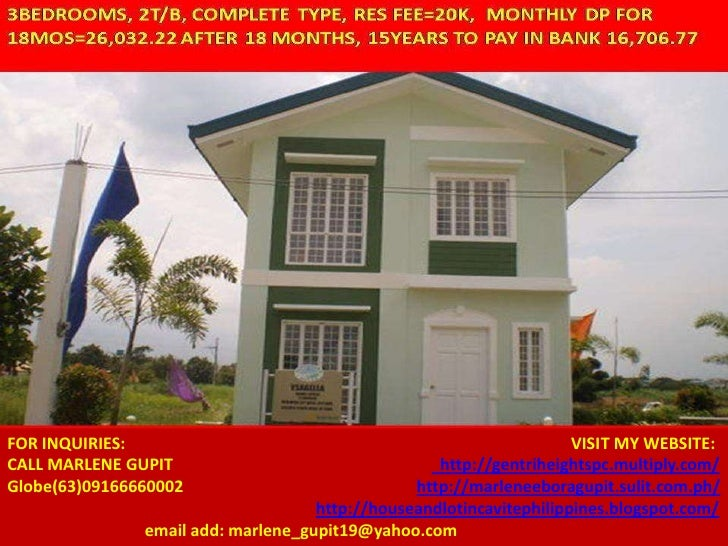 FOR INQUIRIES:                                                       VISIT MY WEBSITE:CALL MARLENE GUPIT                  ...