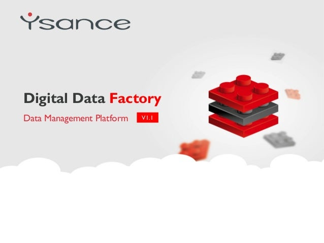 Digital Data Factory Data Management Platform V1.1