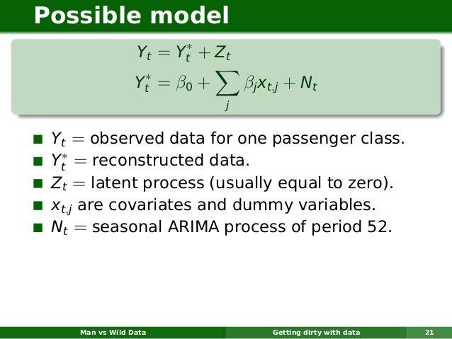 Possible model                       ∗                 Yt = Yt + Z t                  ∗                 Yt = β0 +       βj...