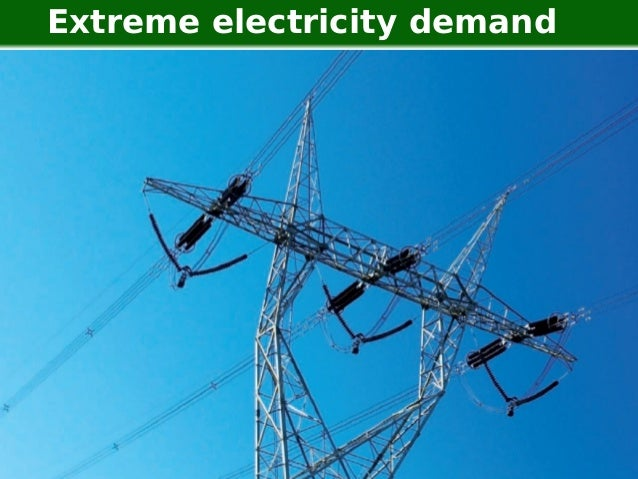 Extreme electricity demand   Man vs Wild Data   Going to extremes   23