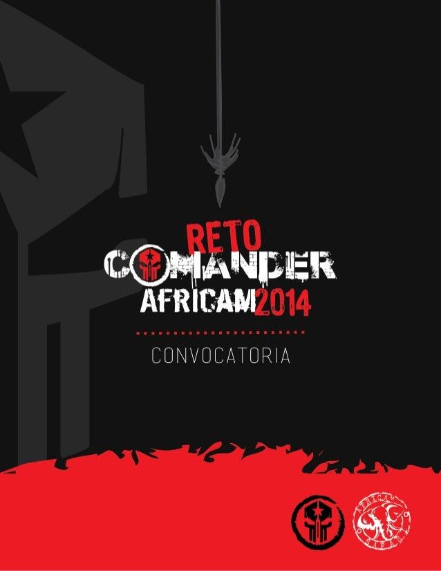 Reto Comander Africam 2014