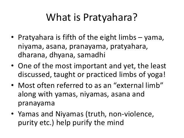Pratyahara Sense Withdrawal