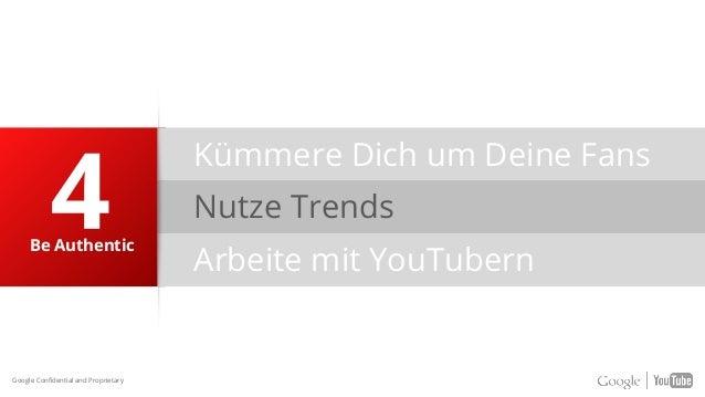 Nutze Trends Arbeite mit YouTubern Be Authentic Kümmere Dich um Deine Fans