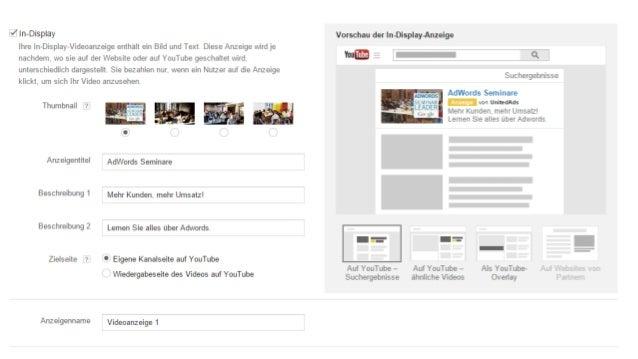 Google Confidential and Proprietary Trueview Kampagnen Check: Gebote ❏ Überprüfe Impressionen ❏ Bei engem Targeting ggf. G...