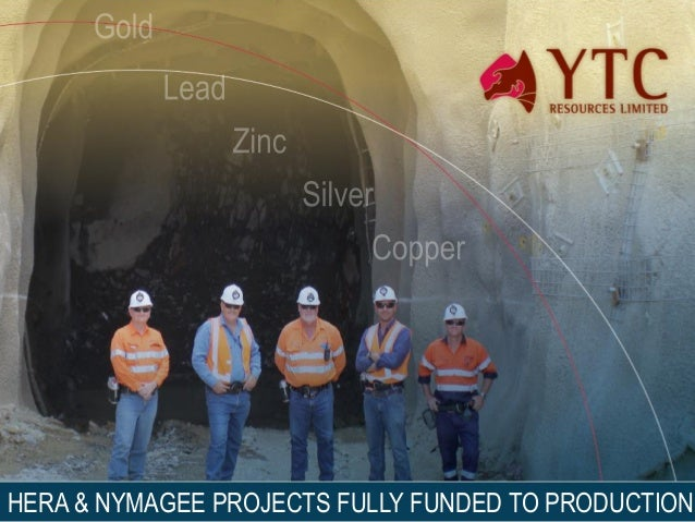 1HERA & NYMAGEE PROJECTS FULLY FUNDED TO PRODUCTION