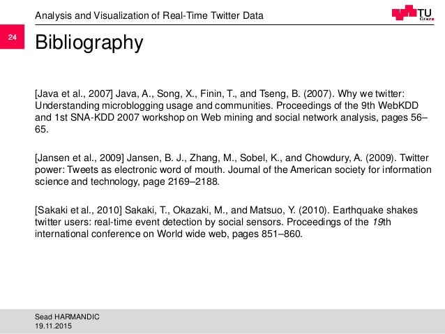 et al bibliography