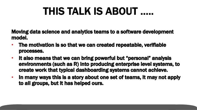 Data Scientists Are Analysts Are Also Software Engineers Slide 2