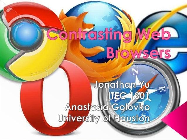 internet browers comparison