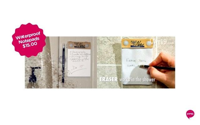 Waterproof Notepads $15.00