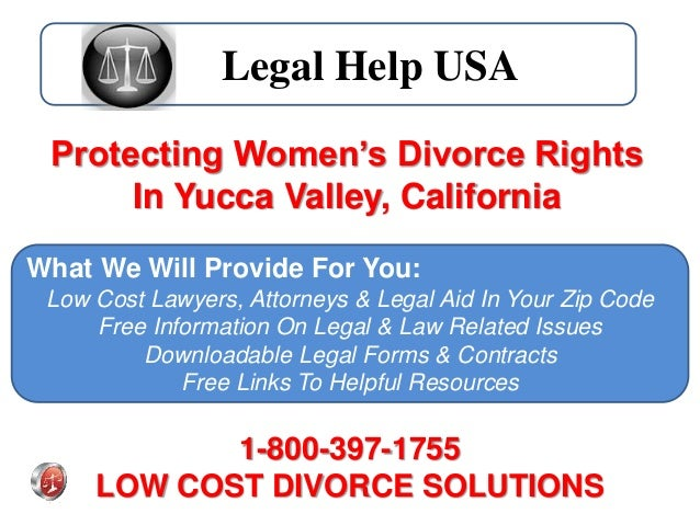 divorce help for women california