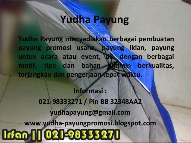 Payung Promosi Jakarta Payung Golf Hotel Produk Kampus Dll Telp