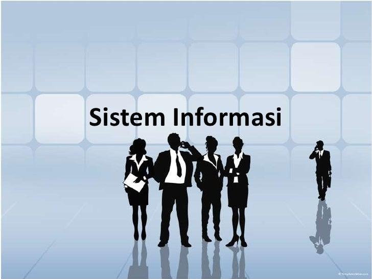 SistemInformasi<br />