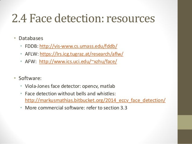 Recent Advances in Face Analysis: database, methods, and