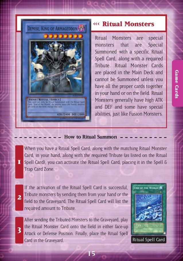 Yu-gi-oh GX Rulebook