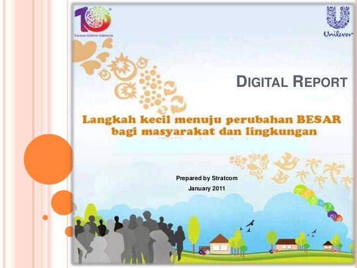 Digital Report<br />Prepared by Stratcom<br />January 2011<br />