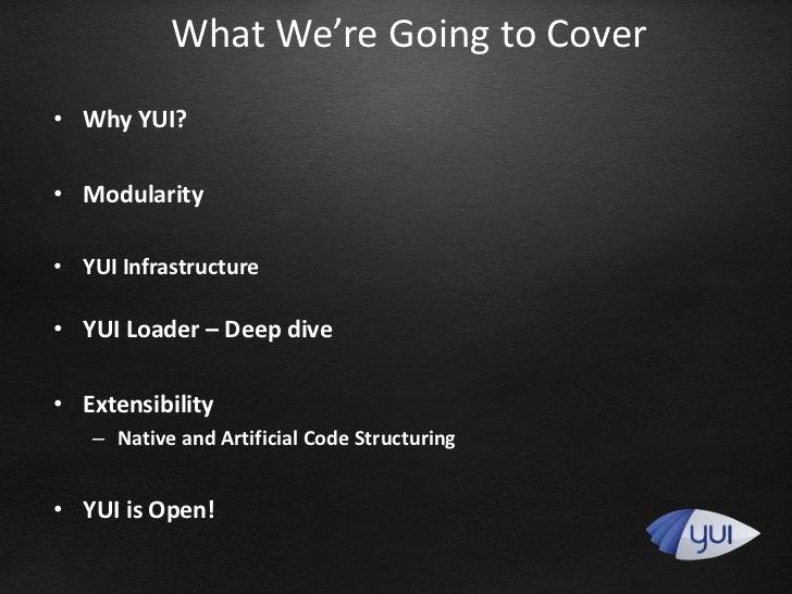 YUI (Advanced) Slide 2