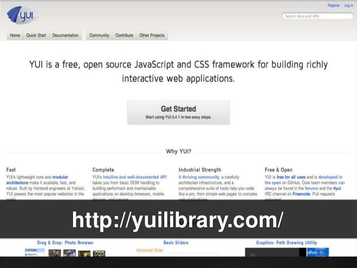 YUI (Advanced) Slide 3