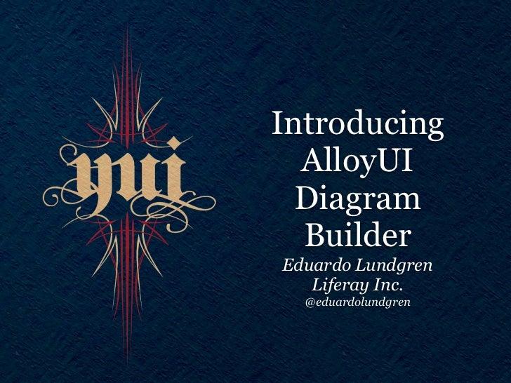 Introducing  AlloyUI  Diagram  BuilderEduardo Lundgren   Liferay Inc.  @eduardolundgren
