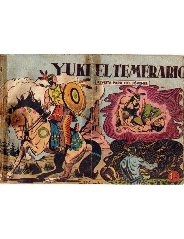 Yuki el temerario 001   yuki el temerario lacospra