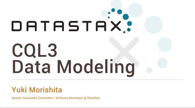 Tokyo Cassandra Summit 2014: CQL3 Data Modeling by Yuki Morishita