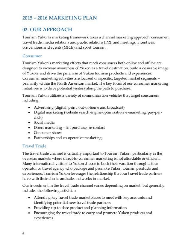 Yukon Marketing Plan