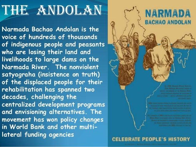 Case study writers narmada bachao andolan