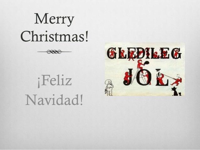 merry christmas feliz navidad - Merry Christmas In Icelandic