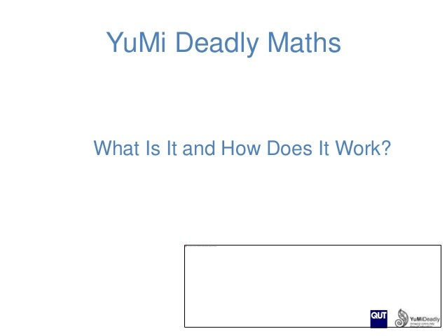 YuMi Deadly Maths  What Is It and How Does It Work?