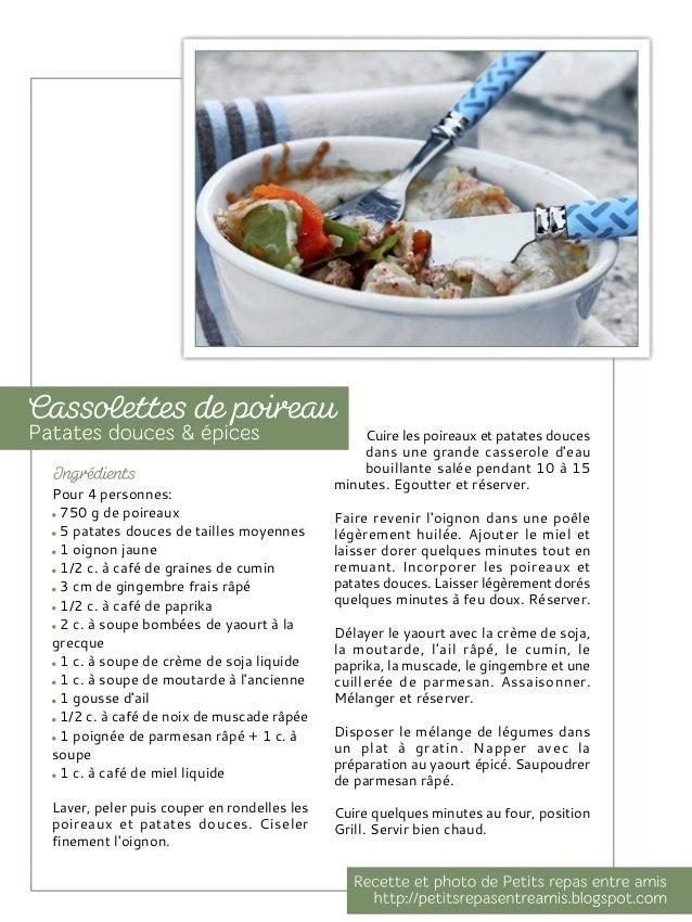 Pour 4 personnes: 2 rouleaux de pâte feuilletée 8 blancs de poireaux 200 g de lardons ou chorizo doux 3 c. à soupe de crèm...