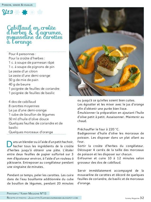 Yummy Magazine 34 Poissons, viandes & volailles
