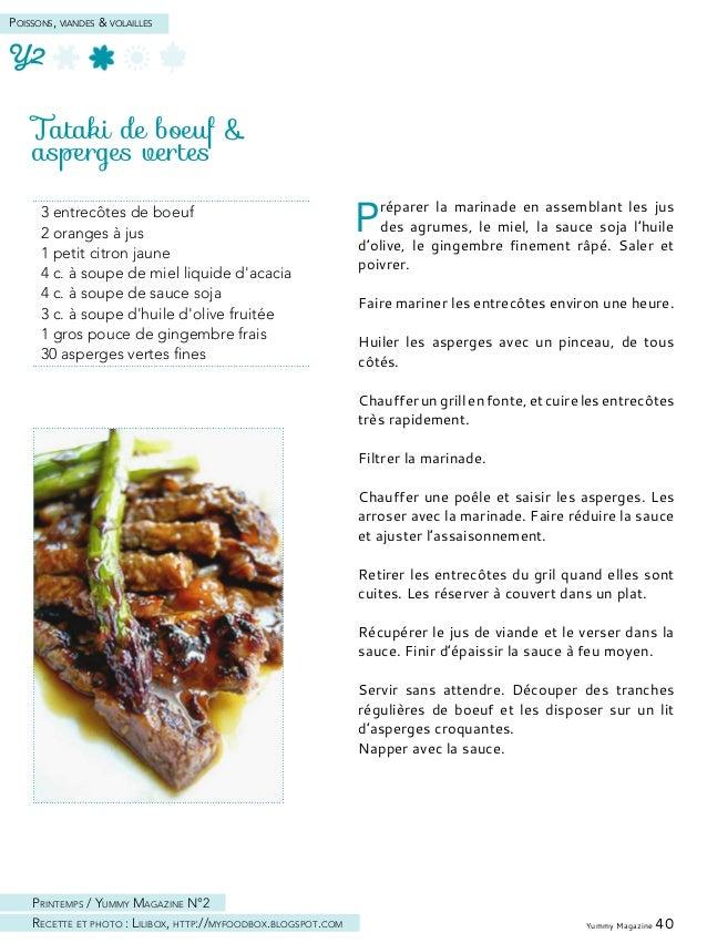 Tartare de canard aux fruits exotiques, cerfeuil & coriandre Hacher la viande de canard au couteau (ou utiliser un hachoir...