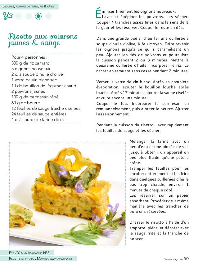 Yummy Magazine 62 Légumes, pommes de terre, riz & pâtes