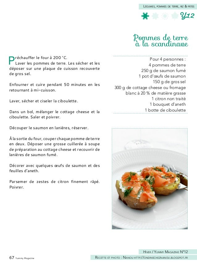 69 Yummy Magazine Légumes, pommes de terre, riz & pâtes