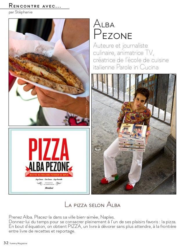Rencontre avec... par Stéphanie Auteure et journaliste culinaire, animatrice TV, créatrice de l'école de cuisine italienne...