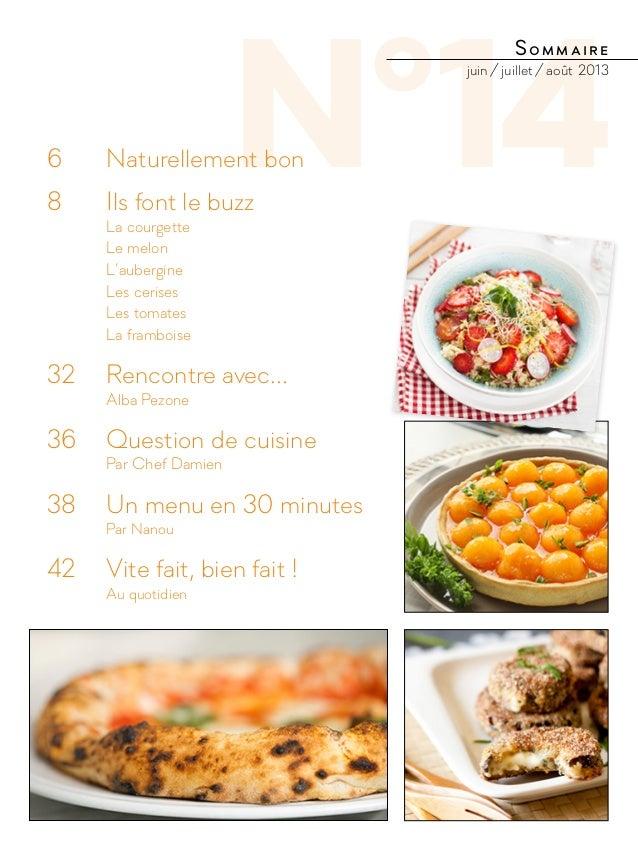 N°146  Naturellement bon 8  Ils font le buzz La courgette Le melon L'aubergine Les cerises Les tomates La ...