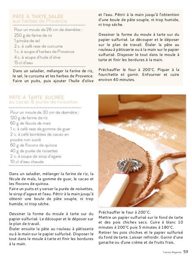 Dans un saladier, mélanger la farine de riz, le sel, le curcuma et les herbes de Provence. Faire un puits, puis ajouter l'...
