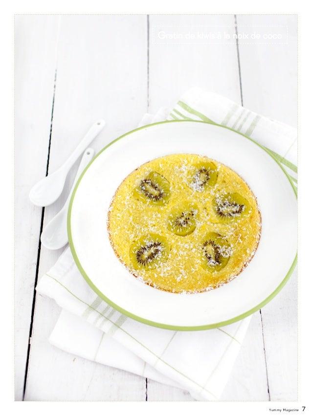 Yummy Magazine 7 Gratin de kiwis à la noix de coco