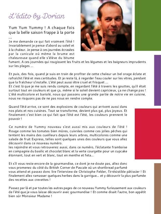 Yummy magazine N°9 Slide 2