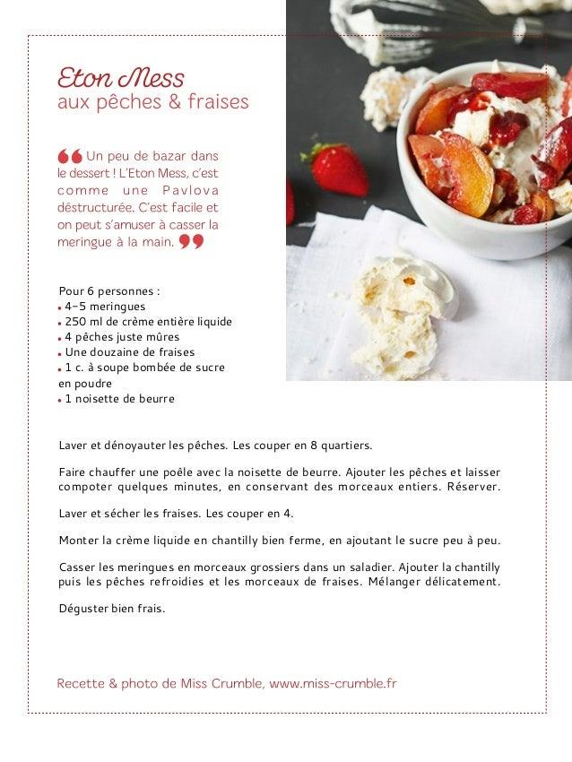3 g de gélatine en feuille 115 g de purée de framboise 110 g de crème fleurette entière Ramollir 3 g de gélatine dans un g...